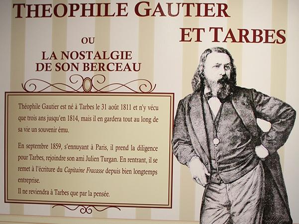 Tarbes en tourisme - Office du tourisme - Hautes-Pyrénées - Théophile Gautier