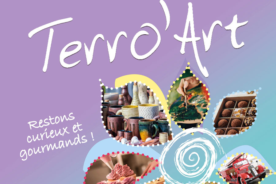 Salon Terro'Art les 25 et 26 septembre sous la Halle Marcadieu